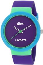 ラコステ 時計 Lacoste Goa Purple Dial Purple Rubber Unisex Watch 2020005<img class='new_mark_img2' src='https://img.shop-pro.jp/img/new/icons19.gif' style='border:none;display:inline;margin:0px;padding:0px;width:auto;' />