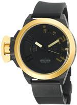 ウェルダー 時計 Welder Mens K24-3403 K24 Analog Gold/Black Ion-Plated Stainless Steel Round Watch<img class='new_mark_img2' src='https://img.shop-pro.jp/img/new/icons6.gif' style='border:none;display:inline;margin:0px;padding:0px;width:auto;' />