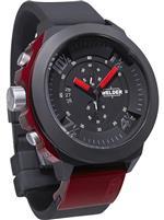 ウェルダー 時計 Welder by U-Boat K33 Chronograph Black Ion-plated Steel Mens Sport Watch K33-9301