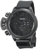 ウェルダー 時計 Welder Mens K24-3306 K24 Chronograph Black Ion-Plated Stainless Steel Round Watch<img class='new_mark_img2' src='https://img.shop-pro.jp/img/new/icons1.gif' style='border:none;display:inline;margin:0px;padding:0px;width:auto;' />