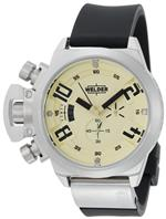 ウェルダー 時計 Welder Mens K24-3202 K24 Chronograph Stainless Steel Round Watch