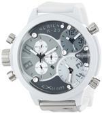 ウェルダー 時計 Welder Unisex 8007 K29 Oversize Three Time Zone Chronograph Watch