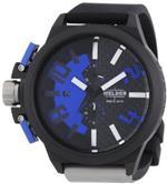 ウェルダー 時計 Welder by U-boat K35 Oversize Chronograph Black PVD Steel Mens Watch Blue Dial