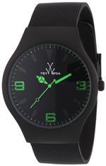 トイウォッチ 時計 Toy Watch Mesh Black PVD Unisex Watch MH04BK