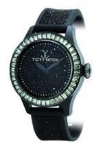 <img class='new_mark_img1' src='https://img.shop-pro.jp/img/new/icons30.gif' style='border:none;display:inline;margin:0px;padding:0px;width:auto;' />トイウォッチ 時計 Toy Watch Glitter amp Gala Glitter Total Black GL03BK Ladies