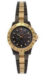 トイウォッチ 時計 Heavy Metal Plasteramic Watch Collection - Mini Gold Black