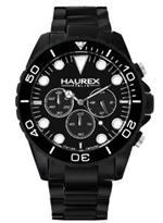 ハウレックスイタリア 時計 Haurex Mens 0K374UNN Ink Chrono Black Aluminum Watch<img class='new_mark_img2' src='https://img.shop-pro.jp/img/new/icons36.gif' style='border:none;display:inline;margin:0px;padding:0px;width:auto;' />