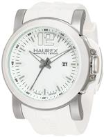 ハウレックスイタリア 時計 Haurex Italy Mens 1D370UWS San Marco White Textured Dial Rubber Watch<img class='new_mark_img2' src='https://img.shop-pro.jp/img/new/icons38.gif' style='border:none;display:inline;margin:0px;padding:0px;width:auto;' />