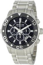 インヴィクタ 時計 Invicta Mens 0741 Reserve Collection Automatic Chronograph Stainless Steel Watch