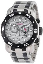 インヴィクタ 時計 Invicta Mens 0690 Pro Diver Chronograph Stainless Steel and Gunmetal Watch<img class='new_mark_img2' src='https://img.shop-pro.jp/img/new/icons32.gif' style='border:none;display:inline;margin:0px;padding:0px;width:auto;' />