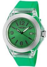 インヴィクタ 時計 Womens Round Watch Dial Color Green Hand Color Black