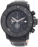 インヴィクタ 時計 Invicta Mens 0604 Reserve Automatic Chronograph Black Leather Watch<img class='new_mark_img2' src='https://img.shop-pro.jp/img/new/icons27.gif' style='border:none;display:inline;margin:0px;padding:0px;width:auto;' />
