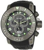 インヴィクタ 時計 Invicta Mens 0413 Pro Diver Collection Sea Hunter Chronograph Black Polyurethane