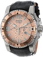 インヴィクタ 時計 Invicta Mens 10901 Excursion Reserve Chronograph Rose Gold Tone Textured Dial