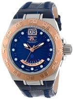 インヴィクタ 時計 Mens Subaqua Blue Dial Blue Genuine Leather