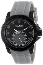 ハウレックス 時計 Haurex Italy Mens 3N503UJJ Acros Black Ion-Plated Coated Stainless Steel Grey