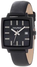 ハウレックス 時計 Haurex Italy Womens FK380DNN Compact W Square Black Leather Watch<img class='new_mark_img2' src='https://img.shop-pro.jp/img/new/icons41.gif' style='border:none;display:inline;margin:0px;padding:0px;width:auto;' />