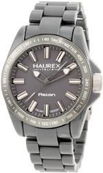 ハウレックス 時計 Haurex Italy Mens G7366UGG Aston Grey Watch
