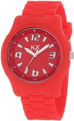ハウレックス 時計 H2X Womens SR381XR1 Splash Luminous Water Resistant Red Soft Rubber Watch