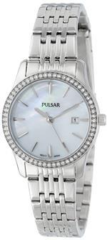 セイコー 時計 Seiko Unisex PH7233 Analog Japanese-Quartz Silver Watch
