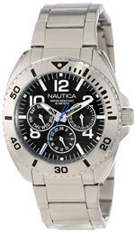 ノーティカ 時計 Nautica Mens N11604G Classic Bracelet Classic Analog Multi-Function Watch<img class='new_mark_img2' src='https://img.shop-pro.jp/img/new/icons1.gif' style='border:none;display:inline;margin:0px;padding:0px;width:auto;' />