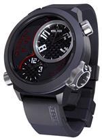 ウェルダー 時計 Welder by U-Boat K32 Oversize Triple Time Zone Black Ion-Plated Steel Mens Watch<img class='new_mark_img2' src='https://img.shop-pro.jp/img/new/icons30.gif' style='border:none;display:inline;margin:0px;padding:0px;width:auto;' />