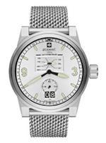 ゾディアック 時計 Zodiac Mens ZO8565 Analog Display Swiss Quartz Silver Watch