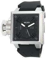 ウェルダー 時計 Welder Mens K25B-4402 K25B Analog Stainless Steel Square Watch