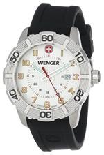 ウェンガー 時計 Wenger Roadster White Dial Black Strap