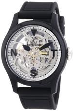 トイウォッチ 時計 ToyWatch Mens Black Toywatch Toy2Fly Skeleton Automatic Watch TTFS13BKSL