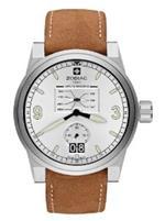 <img class='new_mark_img1' src='https://img.shop-pro.jp/img/new/icons16.gif' style='border:none;display:inline;margin:0px;padding:0px;width:auto;' />ゾディアック 時計 Zodiac Mens ZO8564 Analog Display Swiss Quartz Brown Watch