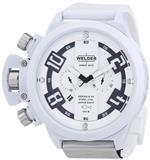 ウェルダー 時計 Welder by U-Boat K24 Oversize Chronograph White Ion-Plated Steel Mens Watch K24-3311<img class='new_mark_img2' src='https://img.shop-pro.jp/img/new/icons40.gif' style='border:none;display:inline;margin:0px;padding:0px;width:auto;' />