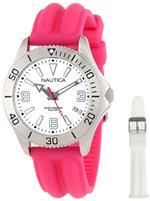 <img class='new_mark_img1' src='https://img.shop-pro.jp/img/new/icons23.gif' style='border:none;display:inline;margin:0px;padding:0px;width:auto;' />ノーティカ 時計 Nautica Womens N11611M NAC 102 Box Set Classic Analog Enamel Bezel Watch