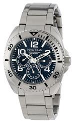 ノーティカ 時計 Nautica Mens N11605G Classic Bracelet Classic Analog Multi-Function Watch