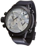 ウェルダー 時計 Welder by U-boat K29 Triple Time Zone Chronograph Black Mens Watch Calendar K29-8000