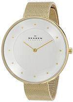 <img class='new_mark_img1' src='https://img.shop-pro.jp/img/new/icons12.gif' style='border:none;display:inline;margin:0px;padding:0px;width:auto;' />スカーゲン 時計 Skagen Womens SKW2141 Klassik Analog Display Analog Quartz Gold Watch
