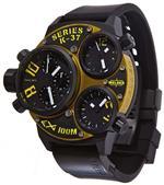 ウェルダー 時計 Welder by U-boat K37 Triple Time Zone Chronograph Black Ion-Plated Steel Mens Watch<img class='new_mark_img2' src='https://img.shop-pro.jp/img/new/icons11.gif' style='border:none;display:inline;margin:0px;padding:0px;width:auto;' />