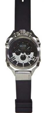 ウェルダー 時計 Welder by U-boat K36 Chronograph Stainless Steel Mens Watch Rubber Strap K36-2403
