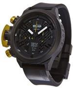 ウェルダー 時計 Welder by U-boat K24 Chronograph Black Ion-Plated Steel Mens Watch Calendar K24-3309
