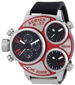 ウェルダー 時計 Welder by U-boat K37 Triple Time Zone Chronograph Stainless Steel Mens Watch<img class='new_mark_img2' src='https://img.shop-pro.jp/img/new/icons32.gif' style='border:none;display:inline;margin:0px;padding:0px;width:auto;' />