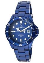 トイウォッチ 時計 ToyWatch ME10BL Blue Aluminium Mineral Womens Quartz Watch