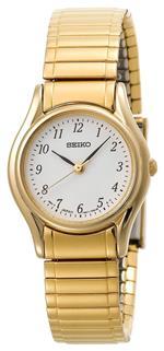 <img class='new_mark_img1' src='https://img.shop-pro.jp/img/new/icons3.gif' style='border:none;display:inline;margin:0px;padding:0px;width:auto;' />セイコー 時計 Seiko Womens SXGN34 Seiko Flex Expansion Bracelet Gold-Tone Watch