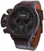 ウェルダー 時計 Welder by U-boat K24 Chronograph Brown Ion-Plated Steel Mens Strap Watch Calendar<img class='new_mark_img2' src='https://img.shop-pro.jp/img/new/icons20.gif' style='border:none;display:inline;margin:0px;padding:0px;width:auto;' />