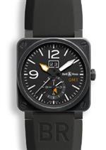 ベルアンドロス 時計 Bell and Ross Aviation Black Dial Black Rubber Mens Watch BR0351-GMT-CB<img class='new_mark_img2' src='https://img.shop-pro.jp/img/new/icons36.gif' style='border:none;display:inline;margin:0px;padding:0px;width:auto;' />