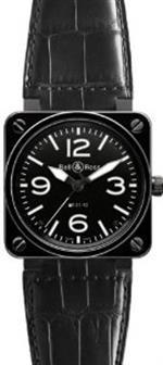 ベルアンドロス 時計 Bell amp Ross Br 01-92 Automatic Watch Br01-92-Black-Ceramic-C