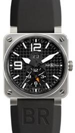 ベルアンドロス 時計 Bell and Ross Aviation GMT Carbon Fiber Dial Mens Watch BR0351-GMT<img class='new_mark_img2' src='https://img.shop-pro.jp/img/new/icons36.gif' style='border:none;display:inline;margin:0px;padding:0px;width:auto;' />