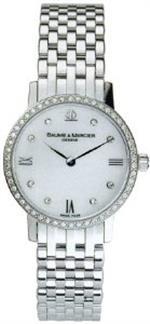 ボームメルシエ 時計 Baume amp Mercier Classima Executives WG Ladies Watch 8580