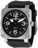 ベルアンドロス 時計 Bell and Ross Aviation Black Dial Steel Case Automatic 42 MM Mens Watch<img class='new_mark_img2' src='https://img.shop-pro.jp/img/new/icons8.gif' style='border:none;display:inline;margin:0px;padding:0px;width:auto;' />