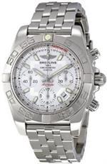 ブライトリング 時計 Breitling Mens AB014012/G711SS Siera Silver Dial Chronomat 41 Watch<img class='new_mark_img2' src='https://img.shop-pro.jp/img/new/icons25.gif' style='border:none;display:inline;margin:0px;padding:0px;width:auto;' />