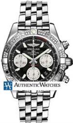 ブライトリング 時計 Breitling Chronomat 41 Automatic Chronograph Mens Watch AB0140AA/BA52